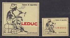 Ancienne étiquette  allumettes Belgique    AZ5423 Tabac Leduc
