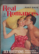 Real Romances Magazine February 1954 Fast Date Sex Questions