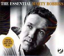 MARTY ROBBINS - THE ESSENTIAL (NEW SEALED 2CD)