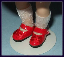 RED Patent Mary Jane Style SHOES fit 5.5 inch Dress Me MINI GINNY & PUKI PUKI