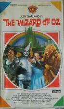 THE WIZARD OF OZ VHS 1985 JUDY GARLAND MGM/UA  CLAM SHELL