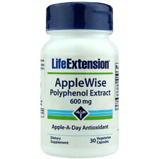TWO BOTTLE Life Extension $13.99 Applewise Polyphenol Extract cardio blood sugar