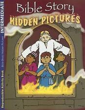Bible Story Hidden Pictures : Coloring and Activity Book
