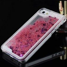 Glitter Bling Hearts Liquid Novelty Colourful Phone Case For iPhone 7  6 6S Plus