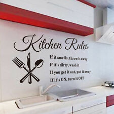 Words Wall Stickers Decal Home Decor Vinyl Art Mural Room Decals DIY Removable A