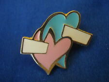 PINS RARE LES 2 COEURS LOVE THE HEARTS 2 MARIAGE AMOUR