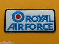 MILITARY FANCY DRESS SEW ON / IRON ON PATCH:- THE ROYAL AIR FORCE R.A.F. TARGET