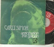 "CARLY SIMON 7"" PORTUGAL 45 ANTICIPATION + THE GARDEN Original 1972 Portuguese PS"