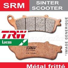 Plaquettes de frein Arrière TRW Lucas MCB 800 SRM pour SYM 150 CityCom 09-
