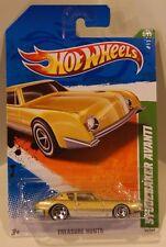 2011 Hot Wheels Treasure Hunt #5 Studebaker Avanti Gold Quantity