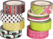 Polar Bear Washi Masking Tape Collection, 0.59 Inch X 10 Yards each, Set of 8,