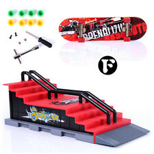 Skate Park Ramp Part for Tech Deck Fingerboard Finger Board challenge game child