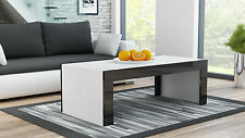 Modern Coffee Table Bench, Black & White Brand New Unit, Matt and High Gloss