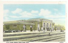 postcard,North Platte Nebraska,Union pacific Station