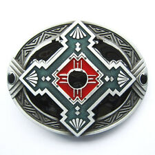 Native Indian Western Rodeo Metal Fashion Belt Buckle