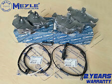 FOR BMW X5 E53 3.0 4.4i 00-07 FRONT REAR MEYLE GERMANY BRAKE PADS WEAR SENSOR