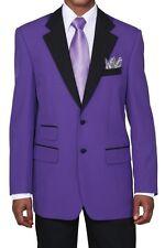 Men's 2Pc 100% Poplin Dacron Fashion Two Button Suit 4 Colors Style 7022