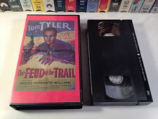 Feud Of The Trail Rare Sinister Cinema B-Western VHS 1937 OOP HTF Tom Tyler