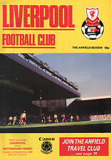 1985/86 Liverpool v Nottingham Forest, Division 1, PERFECT CONDITION
