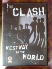 CLASH - WESTWAY TO THE WORLD / CLASH ON BROADWAY - DVD 2005 documentary MINT kbd