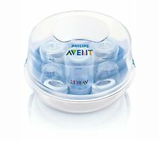 Philips AVENT Baby Microwave Steam Bottle Steriliser BPA Free. Free Fast Postage