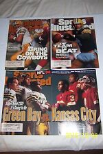 Sports Illustrated GREEN BAY Packers BRETT FARVE Lot of 3 1996 1st 2nd 3rd Cover