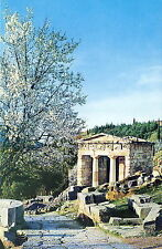 AK: The treasure of the Athesians at Delphi, seat of the most famous oracle in a