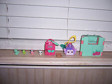 Littlest Pet Shop Teeniest Tiniest Lot Butterfly Owl Caterpillar Playsets LPS E