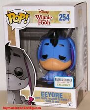 FUNKO POP DISNEY WINNIE THE POOH BLUE EEYORE #254 Barnes & Noble Figure IN STOCK