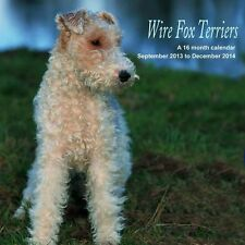 WIRE FOX TERRIERS 2014 SQUARE UK WALL CALENDAR BRAND NEW AND SEALED BY MAGNUM