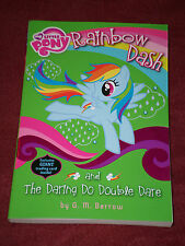 My Little Pony Rainbow Dash & the Daring Do Double Dare by G. M. Berrow SIGNED