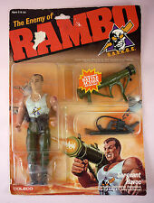 SERGEANT HAVOC - ENEMY OF RAMBO - COLECO - 1986 - UNOPENED AND  MIP