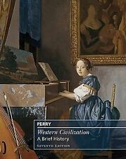 Western Civilization: A Brief History, Complete, Marvin Perry, Acceptable Book