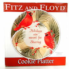 Fitz and Floyd Holidays Are Meant for Sharing Cookie Platter 10.75'' in diameter