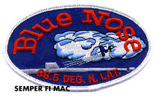 BLUE NOSE HAT PATCH USS US NAVY VETERAN SUBMARINE PIN UP ARTIC CIRCLE WARM BODY