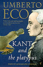 Kant And The Platypus by Umberto Eco (New) FREE P&P