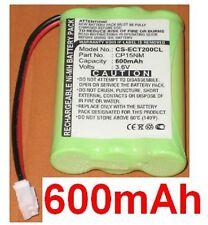 Batterie 600mAh Pour Ericsson DECT230, DECT230i, DECT260, DT140