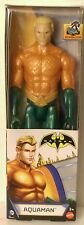 "DC COMICS { CLASIC AQUAMAN } 12"" INCH ACTION FIGURE  MATTEL { Batman Unlimited }"