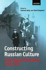Constructing Russian Culture in the Age of Revolution: 1881-1940-ExLibrary