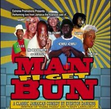 Man Fi Get Bun Jamaican Comedy! DVD Play English Patois Laughter Stage Live New