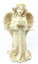 Girl With Angel Wings Holding Dove Memorial Graveside Ornament NEW U1620E5
