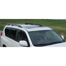 Toyota Land Cruiser Lc1-5 2010+ 5 Door Roof Rails Bars Aluminium Silver Finish