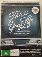 This is Your Life USA The Ultimate Collection 18 Shows on 3 DVD's - Region Free