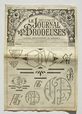Le Journal des Brodeuses n°827 - 1964 - Ecussons pour bavoir - Nappes -