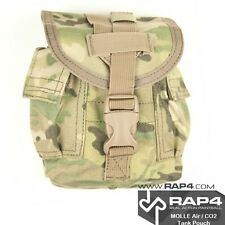 MOLLE Air / CO2 Vertical Tank Pouch (Small) (Eight Colour Desert Camo) [AB8]