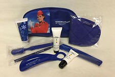 Aeroflot Russian Airlines SkyTeam Business Class Amenity Kit Bag - New!