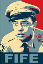Andy Griffith BARNEY FIFE 19X13 Obama style poster