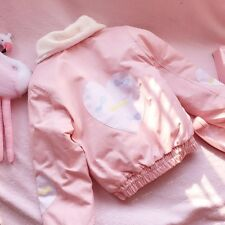 Japanese Harajuku Sweet Lolita Preppy Style Winter Thicken Padded jacket Coat