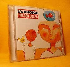 CD K's Choice Cocoon Crash 14TR 1998 Belgian Alternative Pop Rock Sarah Bettens