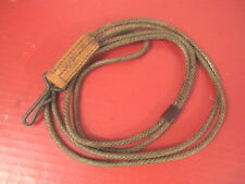 WWII Era US Army M1943 Hickok Pistol Lanyard for Colt M1911 .45acp - Unissued